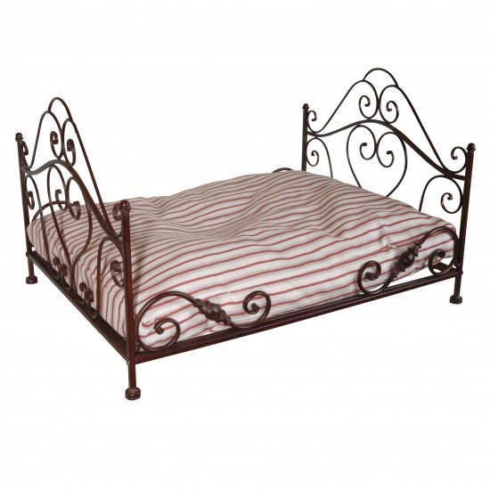Spirited Mama French Wrought Iron Dog Bed